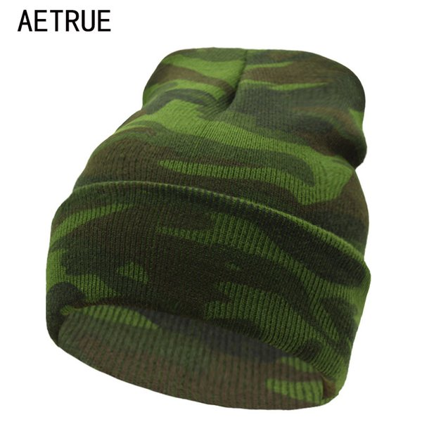 Beanies Winter Hats For Men Bonnet Caps Brand Winter Hat Women Knit Hat Warm New Gorros Touca Camouflage Skullies Beanie 2017