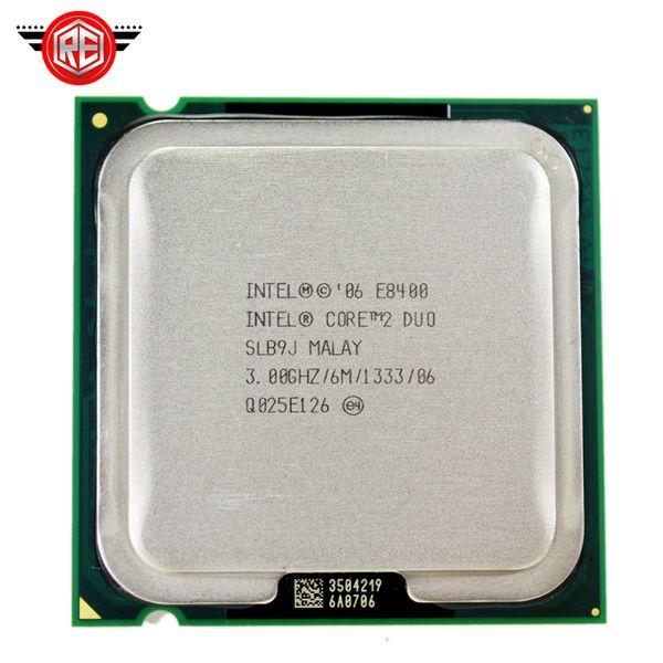 Intel Core 2 Duo E8400 Prozessor Dual-Core 3,0 GHz FSB 1333 MHz Sockel 775 CPU SLB9J