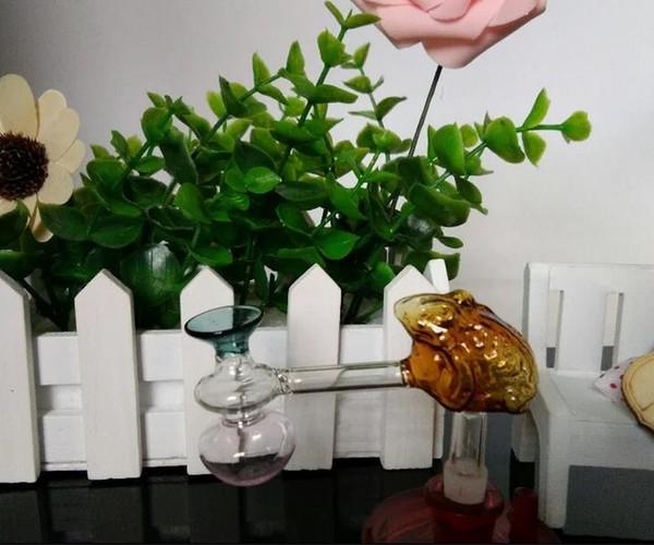 Frog funnel pot --glass hookah smoking pipe Glass gongs - oil rigs glass bongs glass hookah smoking pipe - vap- vaporizer