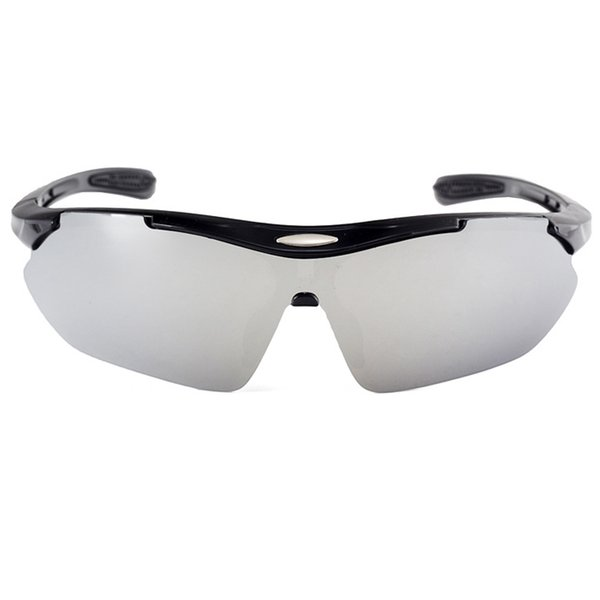 C6 Glossy Black Frame Silver Mirror
