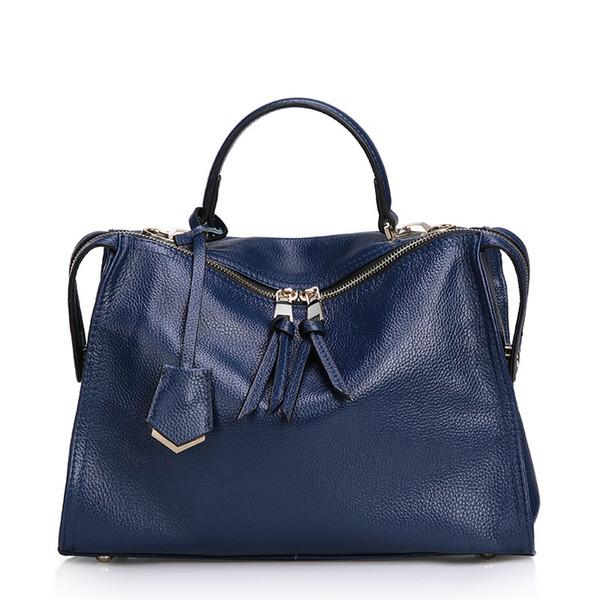 2018 Famous Women Bag Genuine Leather bolsa feminina Designer Handbags High Quality Crossbody European Fold Style new T136
