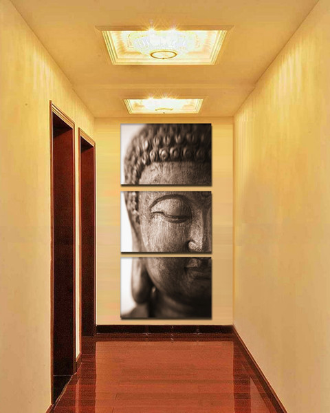 Buddha paintings, painting canvas wall art picture painting paint, home decor gift wall stickers (No Frame)