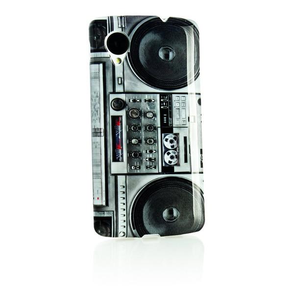 1 Piece Retro Radio Flower Case For Google LG Nexus 5 Silicon Radio Mobile Phone Case Free Shipping