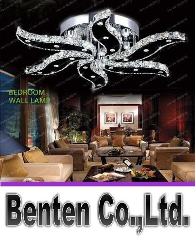 New modern lustre crystal lights design for living room bed room home lighting decoration led ceiling lights LLFA