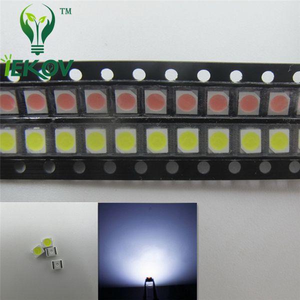 5000pcs PLCC-2 1210 3528 White LED SMD highlight light-emitting diodes 3.0-3.2V High quality SMD/SMT Chip lamp beads Hot SALE