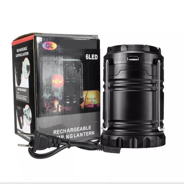 best selling Solar lamps new Style Portable Outdoor LED Camping Lantern Solar lights Collapsible Light Outdoor Camping Hiking Super Bright led Light