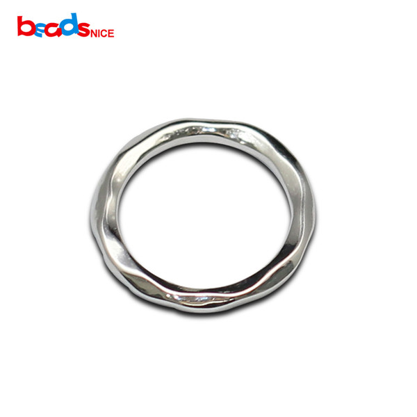Beadsnice 925 Sterling Silver Closed Jump Rings Pure Silver Jump Ring Handmade Jewelry Accessories for DIY Making ID 36301