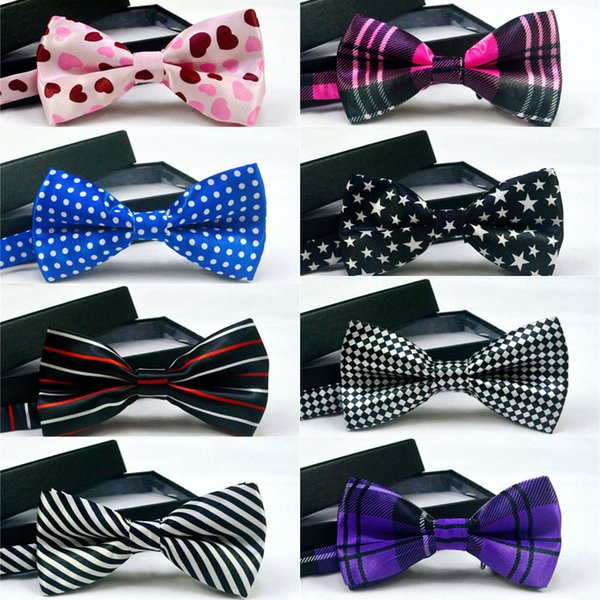 top popular High quality Fashion Men printing Bow Ties Neckwear women bowties Unisex Wedding Bow Tie free shipping 2020