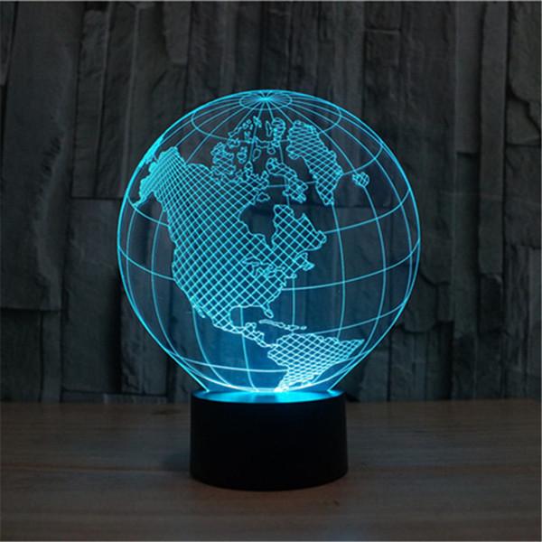 3d globe led home decorative bedside desk lamp usb world map 3d globe led home decorative bedside desk lamp usb world map europe asia america gumiabroncs Image collections