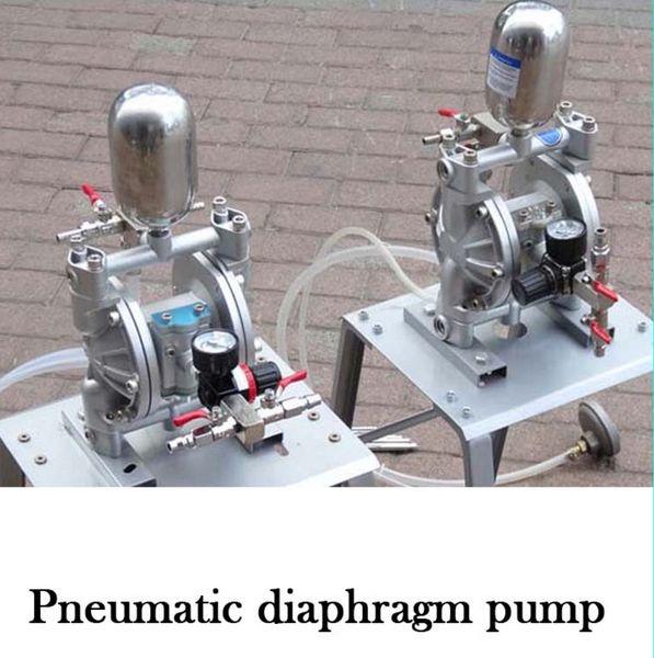 best selling MS-QD Pneumatic Double Diaphragm Pump Small Paint Spraying Suit Membrane Pump