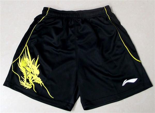 New Li-Ning badminton wear shorts,women and men table tennis/tennis sports shorts,women fitness shorts Breathable polyester free shipping