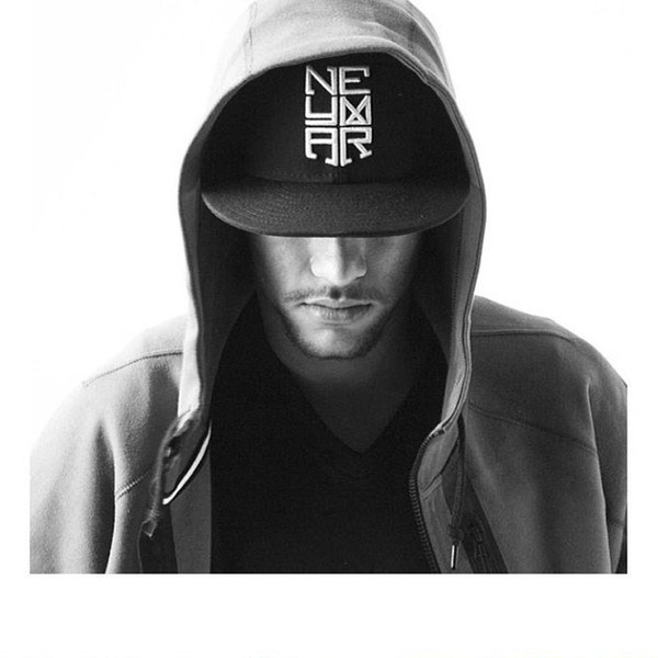 Wholesale-2015 new Hot Sale Neymar Letter Baseball Cap unisex Men And Women Summer Snapback Caps Sun Hip-hop