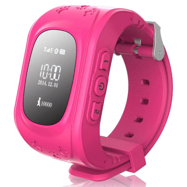 Q50 GSM / GPRS / GPS 2 Way Talk Tracker Babysiter Reloj inteligente Compatible con niños Niños Niños con seguimiento en tiempo real