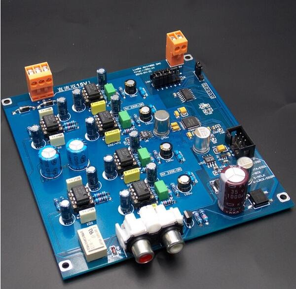 Freeshipping nouveau décodeur DAC AK4490EQ Circuit standard officiel! I2S DSD input Kit semi-fini