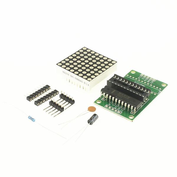 Free shipping 10Pcs MAX7219 Dot matrix module display module DIY kit SCM control module