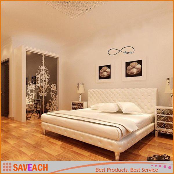 Großhandel Wandtattoo Der Liebe Personalisierte Infinity Symbol  Schlafzimmer Wandtattoo Schlafzimmer Dekor Zitiert PVC Wandaufkleber Von  Xumeng1688, ...