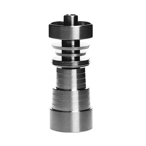 Smoking Dogo Domeless Titanium Nails Universal 14mm 18mm Male Female Grade 2 Titanium Nail Fits Glass Bong Oil Rigs TN-064