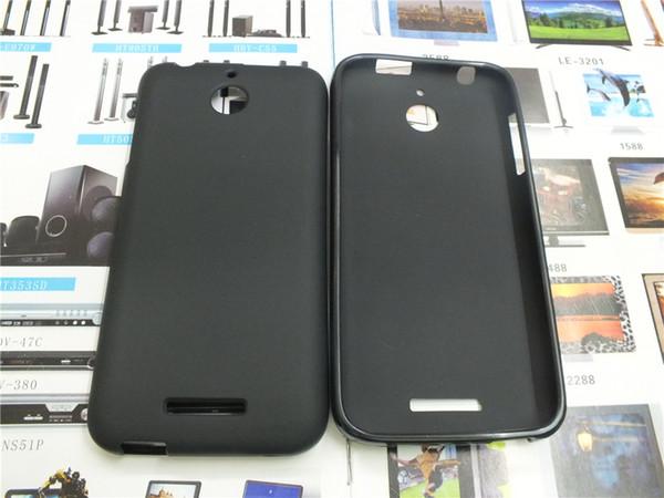 Coque en silicone gélifiée TPU Soft Phone pour HTC M10 Desire 825 Desire 530 Desire 728 Desire 828 Un X9 A9 Plastique Caoutchouc Mat Couverture
