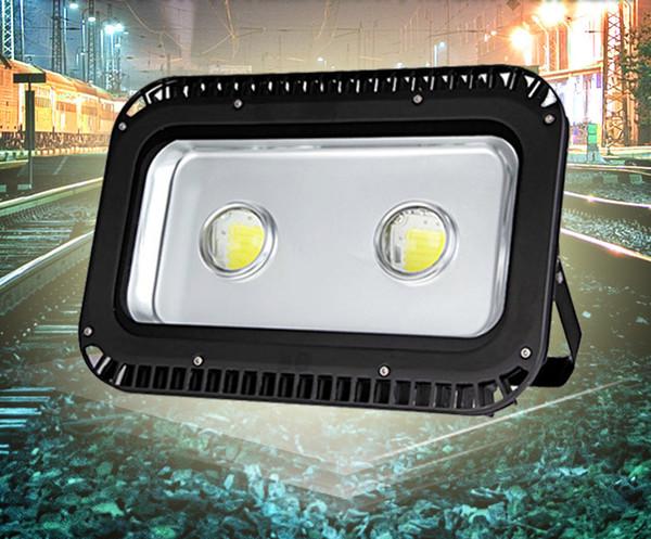 2x50W 100w led flood light tunnel light projection lighting Waterproof outdoor village walkway yard garden lamp