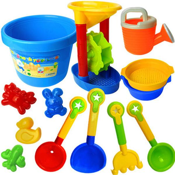 Free shipping large child Beach Toys Set Children playing in the sand Dredging funnel shovel toy tool