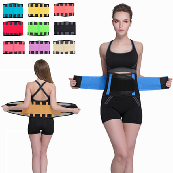 54834dddf5 11 Colors S-2XL Unisex Breathable Thin Xtreme Power Belt Hot Slimming  Thermo Shaper Waist
