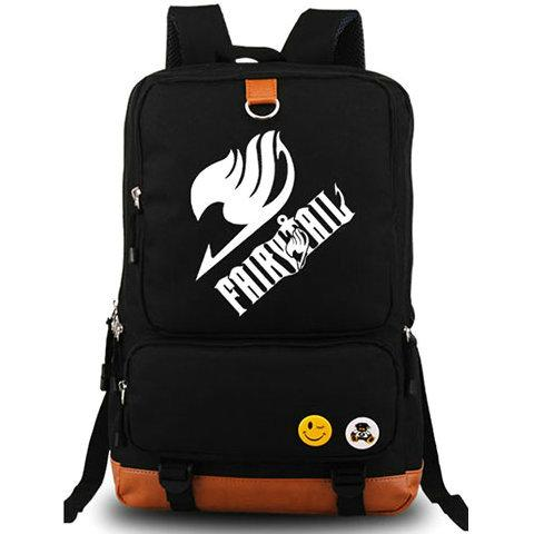 Fairy Tail backpack Natsu Dragneel anime daypack Cartoon Lucy Heartfilia schoolbag Luggages rucksack Sport school bag Outdoor day pack