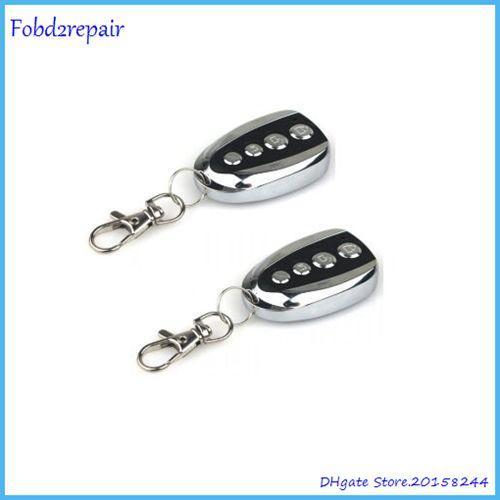 Fobd2repair 2pc Acartool 315mhz 330mhz 433mhz auto door transmitter duplicator remote control face to face copy remote garage opener A009