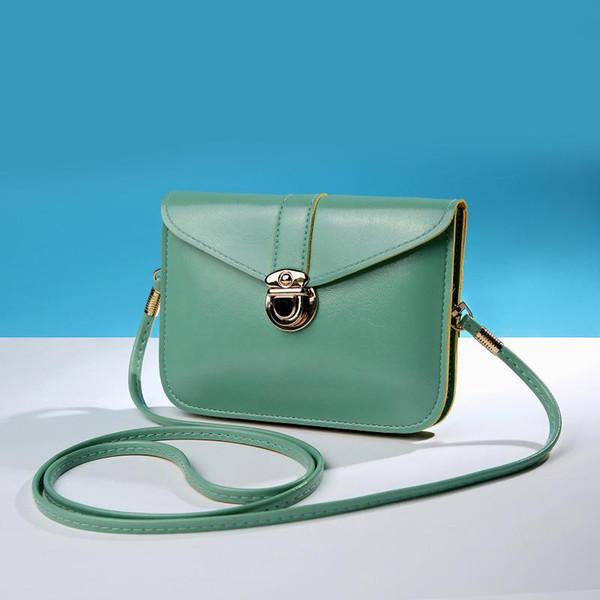 New Women's Shoulder Bags Female Mini Retro Teenage Girls Mobile Phone Bag Casual Trend Shoulder Cross Body Messenger Lady Bag