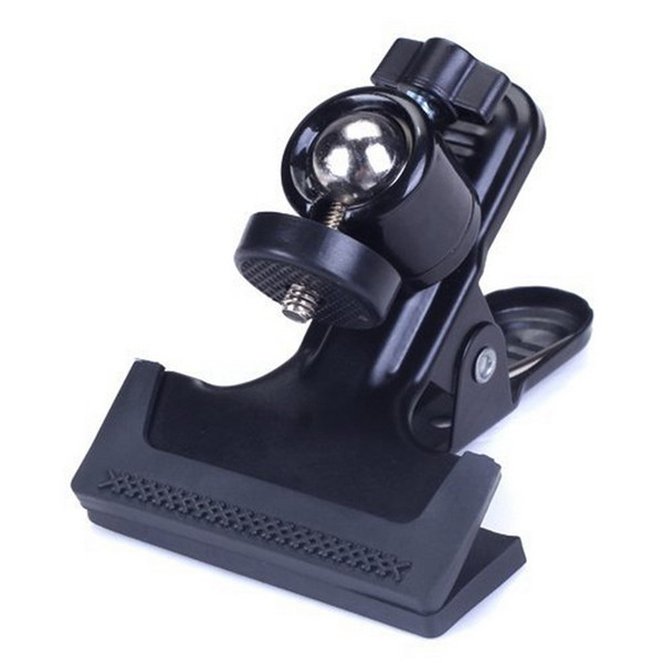 Wholesale- 2017 Newest Multi-function Clip Clamp Holder Mount with Standard Ball Head 1/4 Screw for clamp photography accessories