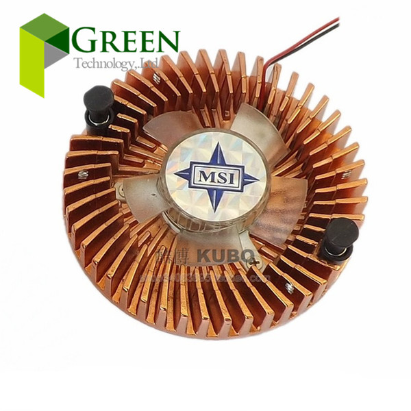 New MSI DC12V 1W 55mm Hole Pitch Graphics Card Fan with Heat sink Cooler With Sunon 124010VM cooling Fan 2pin