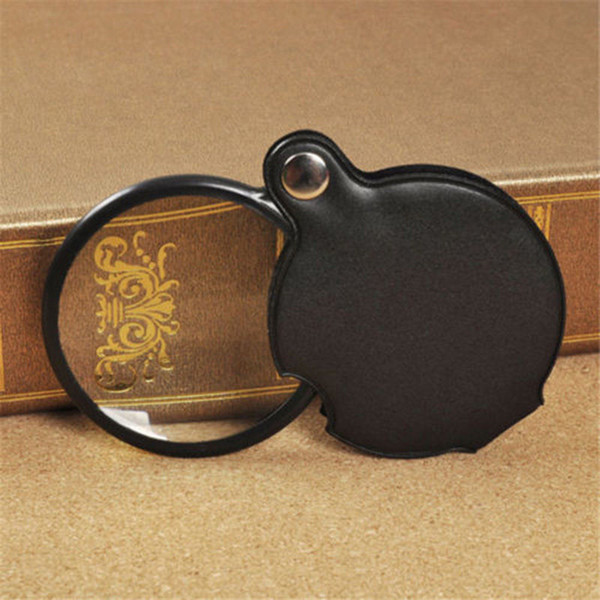 Wholesale-Quality Camping Travel Mini Pocket Folding Magnifier Magnifying Glass Loupe Lens