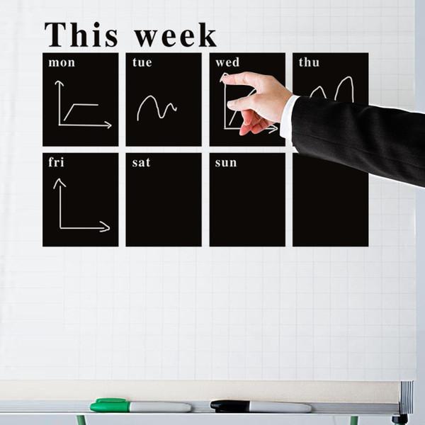 Tafel Tapete großhandel 53 78cm tafel wand aufkleber diy kunst abziehbild