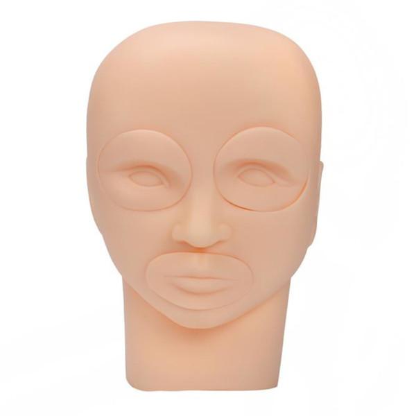 Venta al por mayor nuevo semi maquillaje semi-permanente tatuaje ojo práctica de la piel maniquí práctica de la cabeza herramientas de entrenamiento caliente