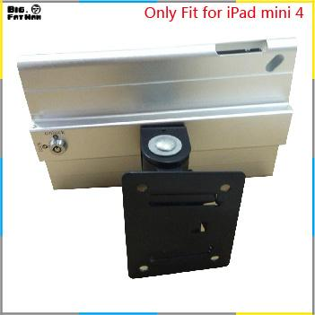 Fit for iPad mini 4 wall mount metal case store display retail bracket store tablet pc lock holder support Adjust the angle