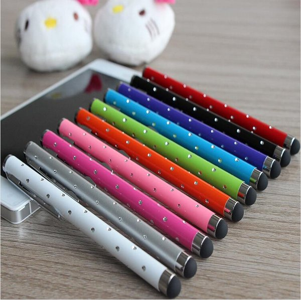 Universal Capacitive Stylus Touch Pen for iPhone 6 6 Plus 5 5S 5C 4 4S Tablet Pc And Other SmartPhone good quality