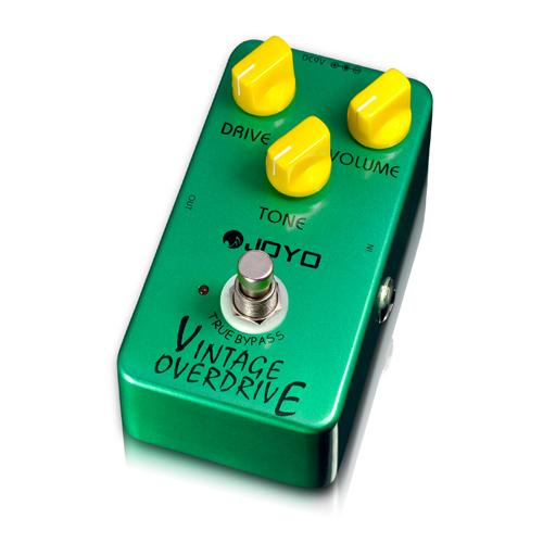 Hot Sale JOYO JF-01 Vintage Overdrive Guitar Effect Pedal with Ture Bypass JRC4588 Chip