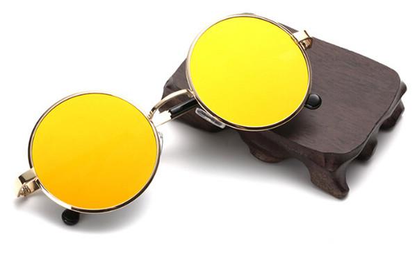 10pcs summer woman Retro plane sunglasses metal color film sun glasses ladies fashion Dazzle colour sunglasses driving glasses 8colors A++