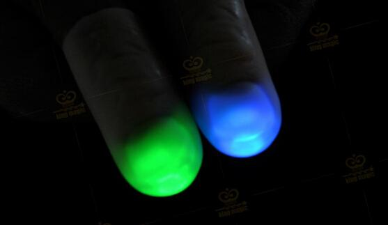 Red Blue Green Creative Novelty Toys Trade Selling High Quality Light Dancing Thumb Lights Finger Light Stage Magic Props