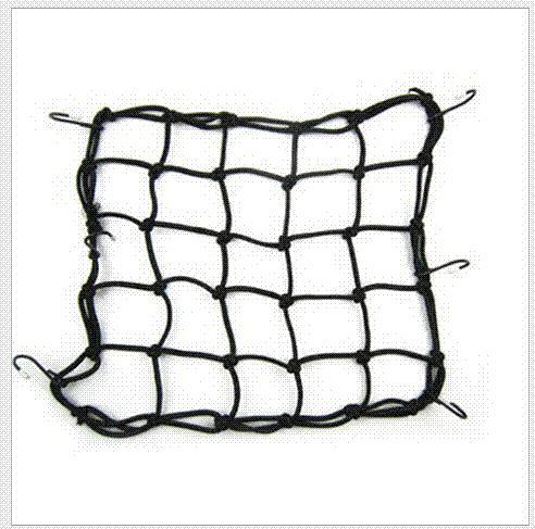 5 Colors 30*30cm Motorcycle string bag helmet fuel tank Luggage net Mesh Web Bungee elastic rope motorcycle accessories
