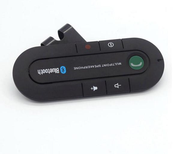 Automotive Wireless bluetooth 4.1 visor support bluetooth hands-free calls Music playback Bluetooth 3.0 Super Slim Car Kit Speaker Phone