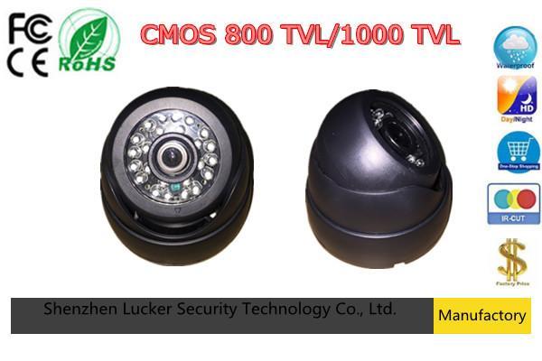 CCTV камеры 800TVL 1000TVL ИК-фильтр 24 часа День / ночного видения видео инфракрасный 10 м крытый аналоговый купол ABS BNC бесплатная доставка