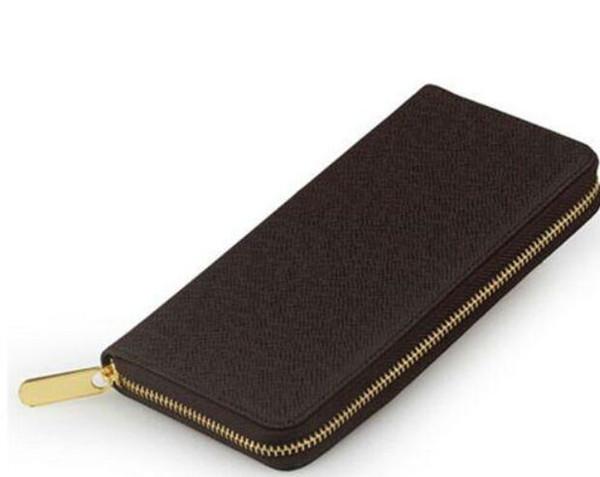 Hotsale de calidad superior hotsale nueva marca de cuero genuino popular monedero de mano 60017 pequeña bolsa l20