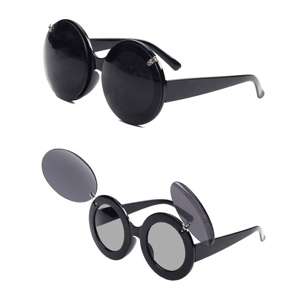 Fashion Hot Frames Women Men Sunglasses Designer Ray Polarized Sports Famous Vintage Brand Folding Luxury Round Sun Glass O4024