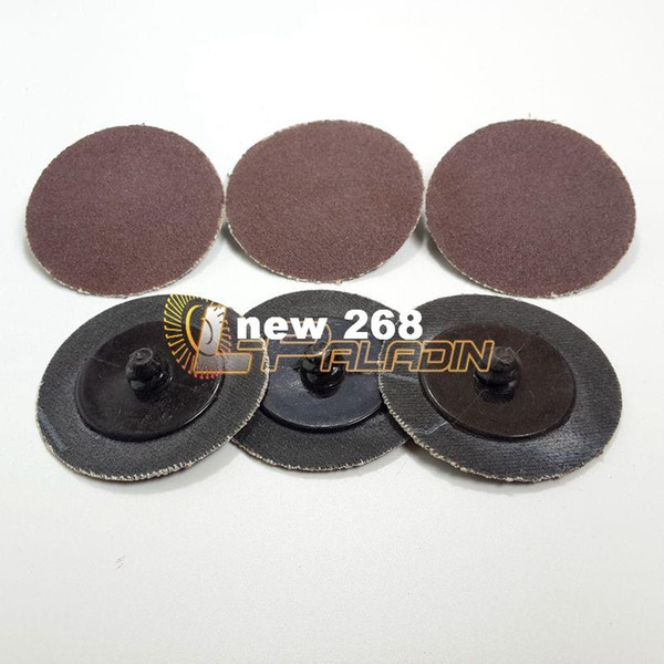 """best selling 100 pieces 2"""" A O Roloc Sanding Disc Automobile Refinish Deburring Finishing Quick Change Disc Drill Tool"""