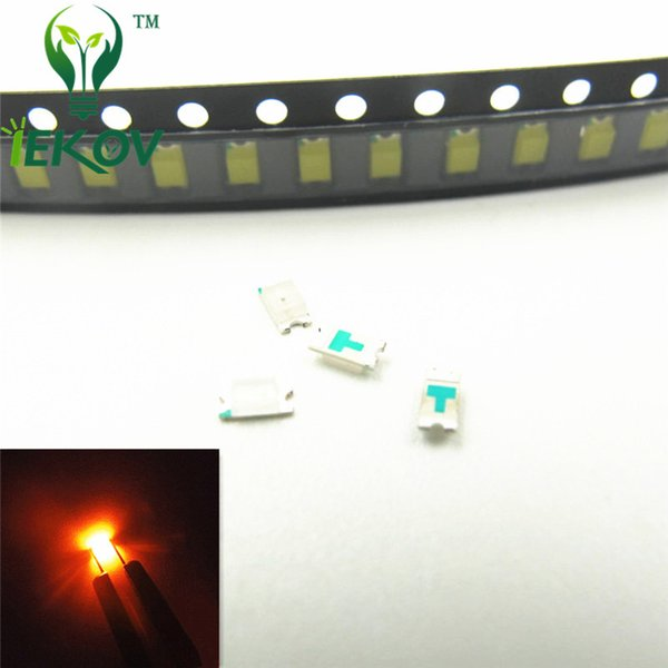 5000pcs/lot 0603 SMD Orange/Amber Led Ultra Bright Light Diode High Quality SMD/SMT Chip lamp beads Suitable for bicycle DIY