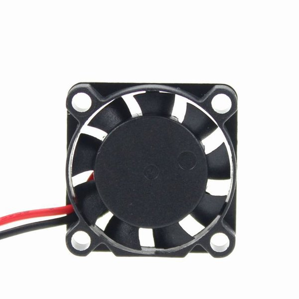 25mmx25mmx7mm Bearing Sleeve 2 Terminal 0.2A 5V 2Pin Brushless DC Cooling Fan Black