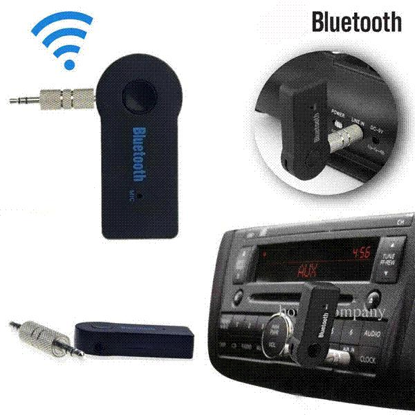 2.4GHz Universal 3.5mm Streaming Car A2DP Wireless Bluetooth AUX Audio Music Receiver Adapter Handsfree With EDR