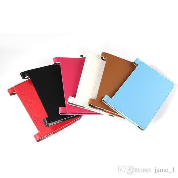Folding Folio PU Leather case for lenovo yoga tablet PC 2 830f 830L holster stand cover Magnetic bag