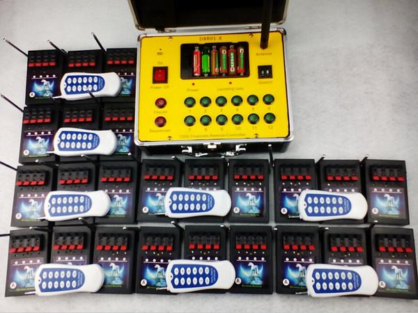 Nouvelle arrivée Double système de tir à distance de feux d'artifice à télécommande 96 canaux pyrotechniques, système de tir à bonheur de feu, livraison rapide d'un ensemble / lot