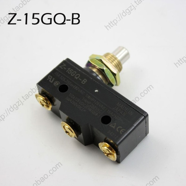 best selling New Z-15GQ-B Push Button Plunger Micro Limit Switch Brand New High Quality Silver Alloy Contacts Travel switch